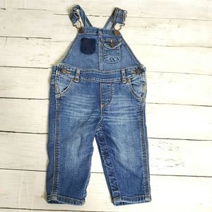 Oshkosh B'gosh Denim Overalls 6 Months Baby Blue